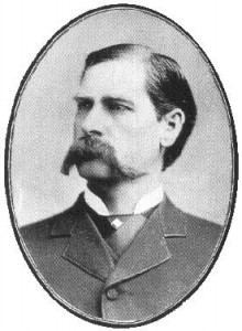 Wyatt Earp, the Sheriff, not the borrower.
